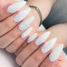 snowflake nail art ideas for a winter