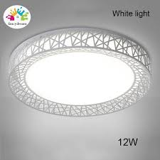 fancydream led ceiling light bird nest round lamp modern fixtures for living room bedroom kitchen