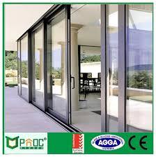 china pnoc080307ls new design sliding glass door with good china glass door thickness sliding glass door