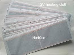 super large 12v electric heating cloth diy heating pad heated sheet for car cushion heating desk
