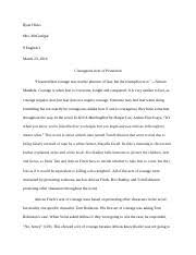 a long way gone ch summary summer reading journal entry  4 pages to kill a mockingbird essay courage