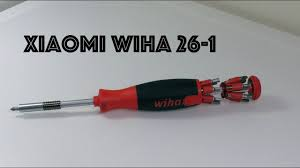 НЕМЕЦКАЯ <b>ОТВЕРТКА XIAOMI</b> MIJIA <b>wiha 26</b> в 1 - YouTube