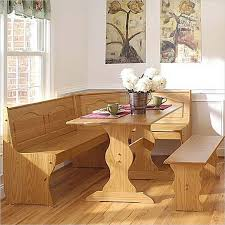 ... Dining Tables, Awesome Light Brown Rectangle Rustic Wooden Corner Booth  Dining Table Stained Design: ...