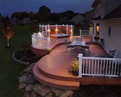 outdoor deck lighting. View Larger Image Backyard Outdoor Deck Lighting For A Cincinnati, OH Family.