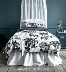 black and white duvet covers shabby chic bedding authentic shabby chic duvet shabby cottage style bedding
