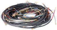 air cooled volkswagen karmann ghia wiring harnesses from mid 1970 1971 ghia complete wiring harness