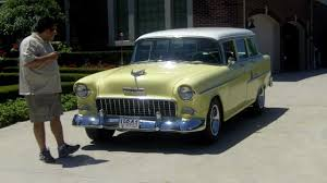 1955 Chevy Bel Air Wagon Classic Muscle Car for Sale in MI ...