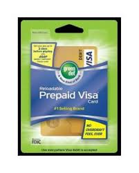 green dot prepaid visa gift card