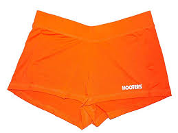 Hooters Orange Shorts
