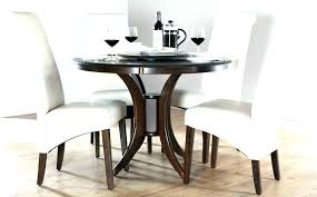 dining tables round black dining table with leaf wood dark white chairs nice decoration r round