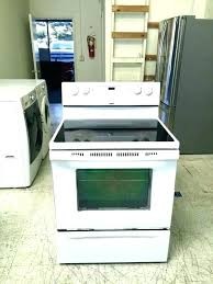 glass top electric stove flat electric stove glass top electric stove wonderful kitchen whirlpool appliances in glass top electric stove