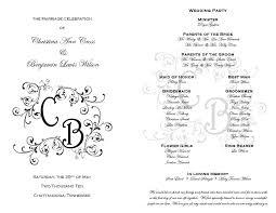 wedding program templates target printable wedding wedding program templates and wedding programs qqzbcsmx
