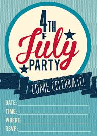 4th of july printable invitations free printable included for fresh fourth of july invitations