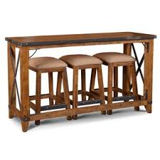 bridgeman 4 piece pub table set set of 4