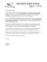 School Survey Questions For Parents Survey For Parents Barca Fontanacountryinn Com