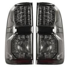 Voor Toyota Hilux Vigo 2004 2015 Paar Auto Led Achterlichten Remlicht Lamp Rook Zwart