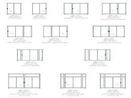 width of sliding glass doors patio door incomparable standard measurements dimensions