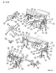 1994 dodge dakota wiring instrument panel diagram 00000ei0