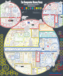 Every Company Disney Owns A Map Of Disneys Worldwide Assets