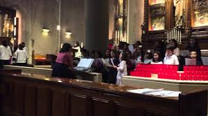 Christ Be Our Light Choir Our Lady Queen Of Martyrs Childrens Choir Christ Be Our Light Forest Hills Ny