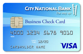 use your city national visa business check card to pay for all the big and little things that keep your business thriving and running smoothly every day