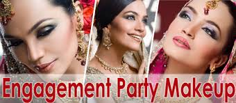 enement party makeup party make over by laiqa hasan