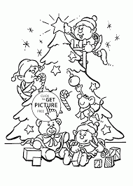 Small Picture Coloring Pages Happy Christmas Elf Coloring Page Free Printable