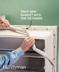refrigerator door gasket. how to replace a refrigerator door gasket