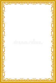 vintage frame border. Download Decorative Vintage Frames And Borders Set,photo Frame With Corner Line Stock Illustration - Border E