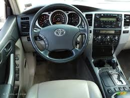 2004 Toyota 4Runner Limited 4x4 Taupe Dashboard Photo #49954391 ...