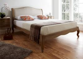 Weathered Oak Furniture Amelia Oak Bed Frame Lfe French Inspiration Collection