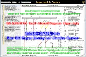 lamborghini aventador lp700 4 lp750 4 workshop manual wiring 2017 2016 lamborghini aventador lp 750 4 superveloce roadster workshop manual wiring diagram