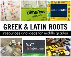 Greek latin roots games