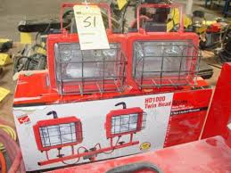 Commercial Electric Work Light Fascinating COMMERCIAL ELECTRIC HEAVT DUTY HALOGEN WORK LIGHT
