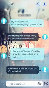 go sms pro glass ii theme 1 1 screenshot 3