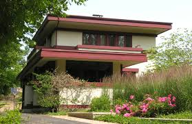 What Is Prairie Style Prairie School Houses  Chicago School Frank Lloyd Wright Style House