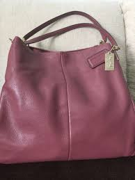 COACH Madison Leather Small Phoebe Shoulder Handbag, Women s Fashion ...