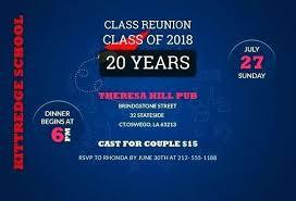 Printable Family Reunion Invitations Reunion Invitations Templates Free Class Reunion Invitation