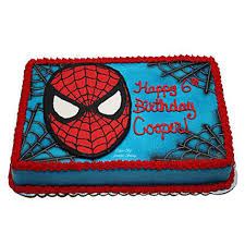 Mask Of Spiderman Cake 1kg Vanilla Gift Spider Themed Birthday