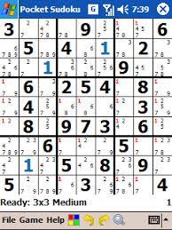 Home Pocket Sudoku