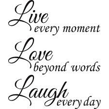 Live Love Laugh Quote