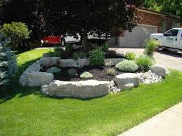 office landscaping ideas. Lovely Landscaping Ideas With Armour Stone Interior Designs Model Home Office Decoration 1200×900
