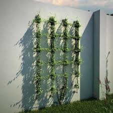 Rope Trellis Designs Jakob 96 In Wire Rope Plant Trellis System 30790 0000