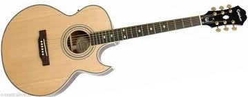<b>Электроакустическая гитара EPIPHONE PR</b>-<b>5E</b> NATURAL GOLD ...