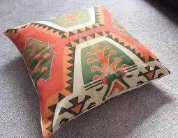 ethnic floor cushions. Wonderful Ethnic AztecTribalGeometricEthnic Cotton Linen Floor Cushion Cover 26 X 26 Intended Ethnic Cushions