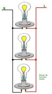 wiring lights in parallel connection diagram how to wire lights wiring lights in parallel