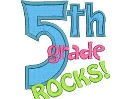 Image result for 5th grade rocks clip art