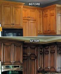 astonishing painting kitchen cabinets white before and after before and after faux finish on the kitchen
