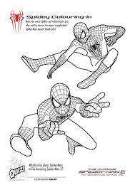 Small Picture Free Printable Spiderman Colouring Pages and Activity Sheets In