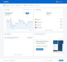 Coinbase Dashboard Price Chart Dashboards Chart